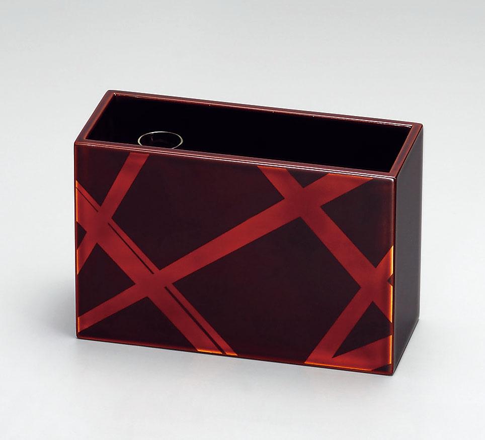 choudohin3095 6 - 箱型花器 小 白檀 カゴ目[1個]