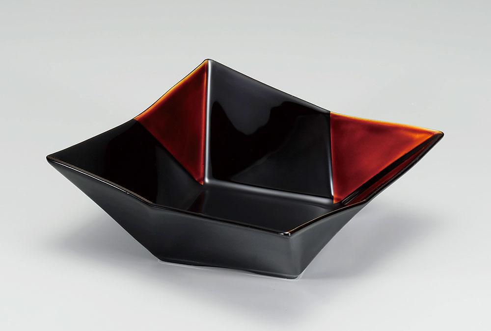 hachi3039 5 - 白檀 角彩鉢[個]