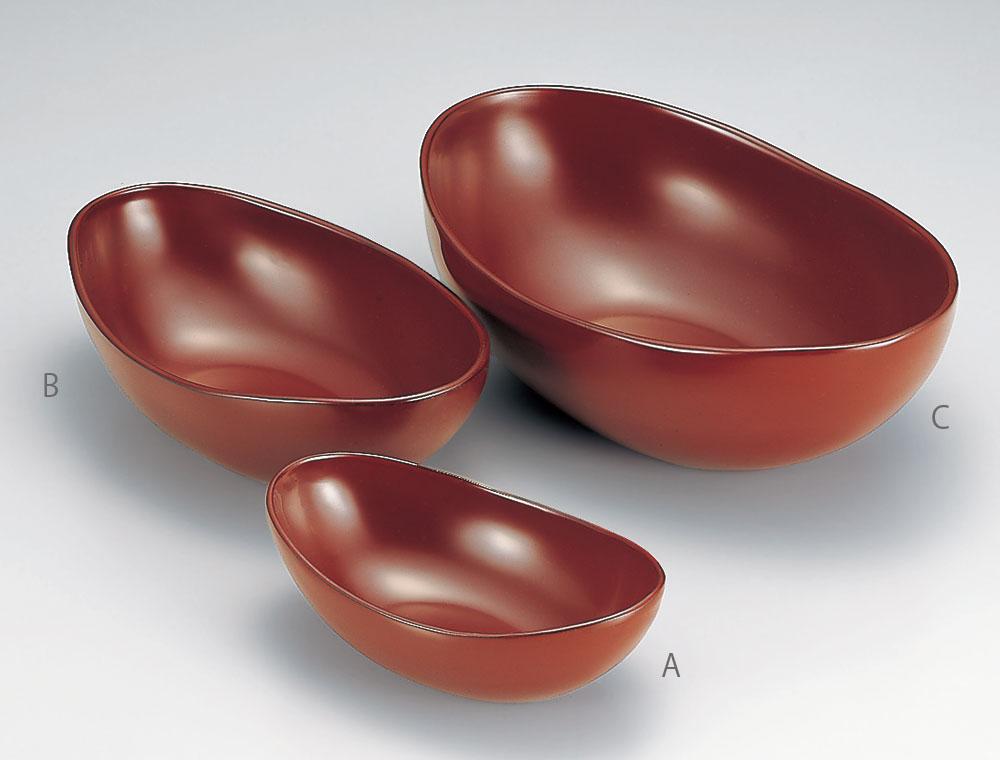hachi3040 7C - 古代朱 貴船鉢(大)(C)[1個]