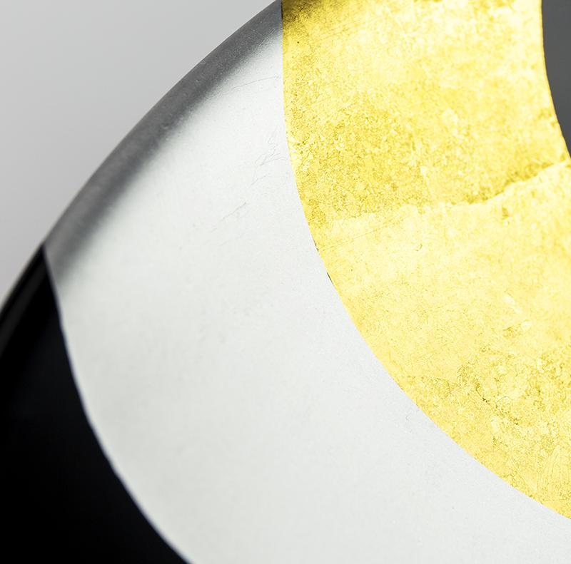 【手描き蒔絵・消し蒔絵】越前塗 のし 浅鉢[1個]詳細