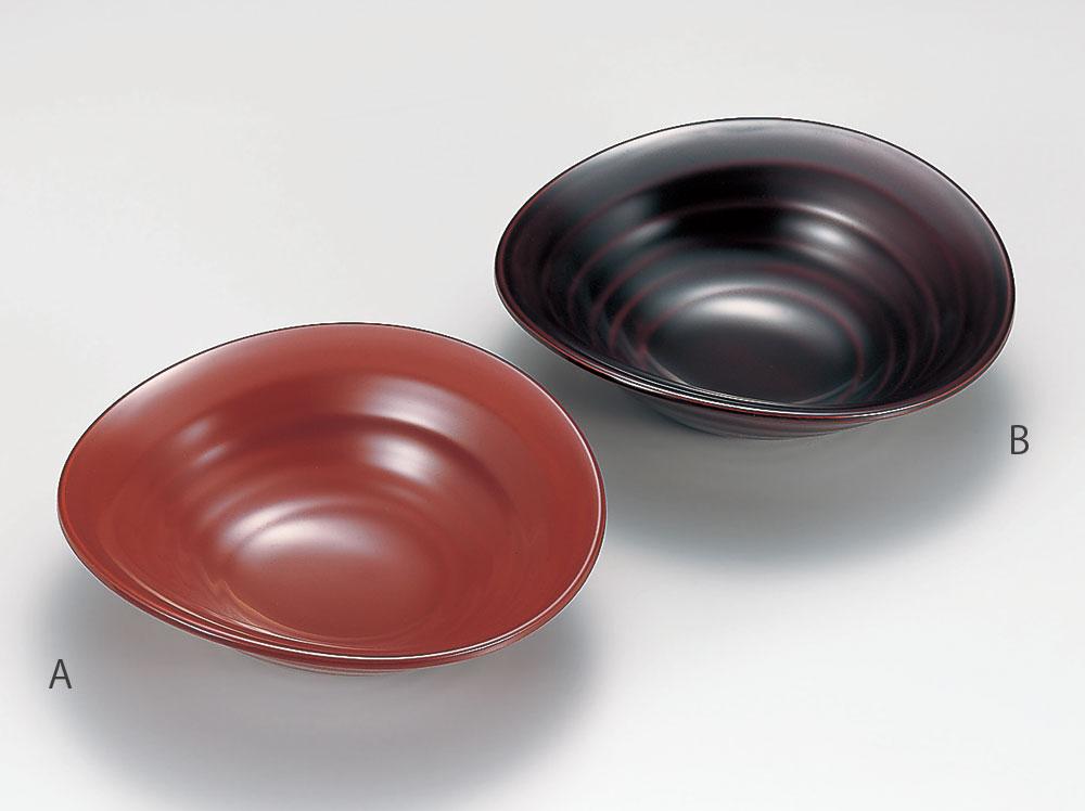 komono3072 2B - 溜塗(ためぬり)4寸美月皿(B)[1個]