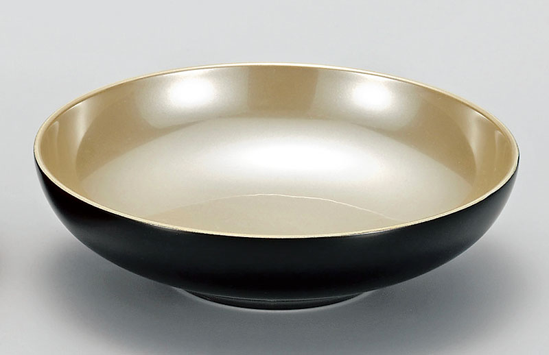 komono3072 8B - 凛 黒 光琳小鉢 [1個]