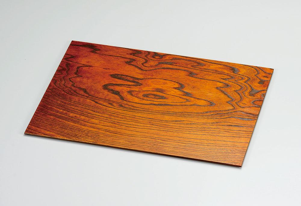 obon3051 3B - 越前塗 拭き漆 尺4ランチョンマット[1枚]