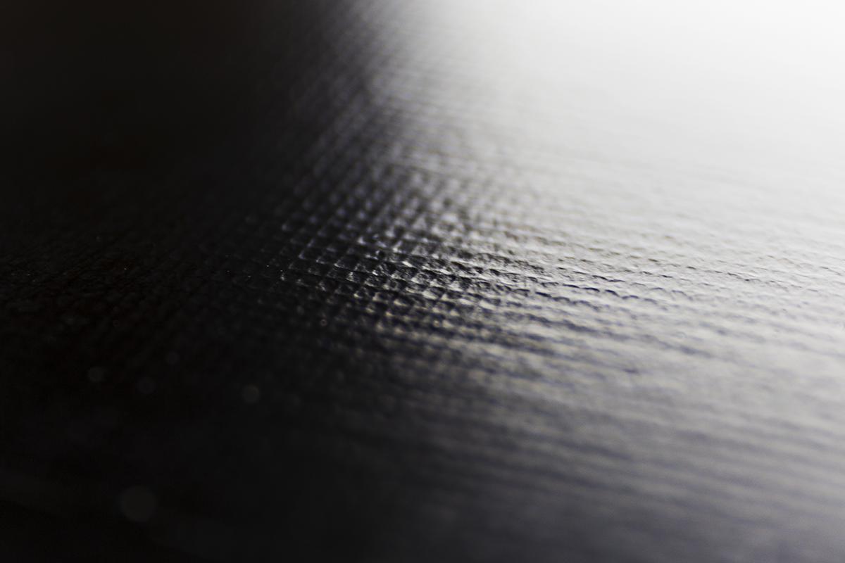 粂治郎 越前塗 黒布張 小会席[1枚]布張り