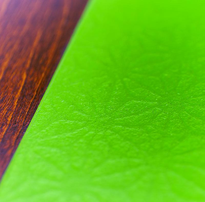 越前塗 丸プレート 麻和紙張り/拭き漆[1枚]詳細
