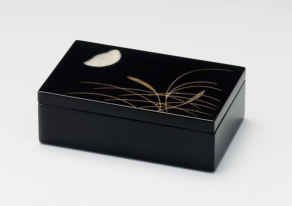 ohako3091 4 - 【沈金】むさしの沈金 長小筥 [1個]