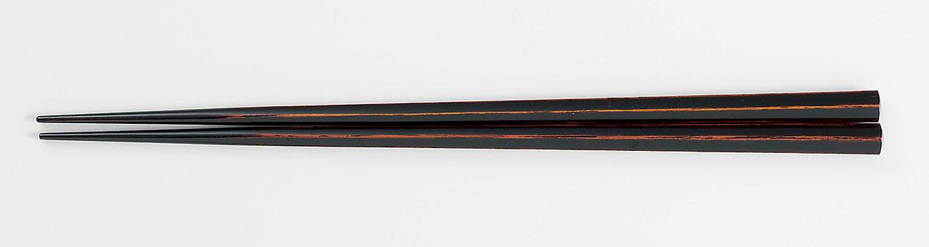 ohashi3078 7 - 五角箸 溜塗(ためぬり)[1膳](食洗機対応)