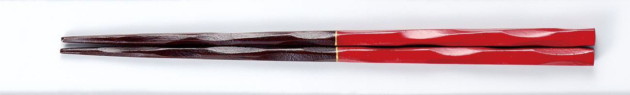 ohashi3083 3 - 家族箸 赤[1膳]