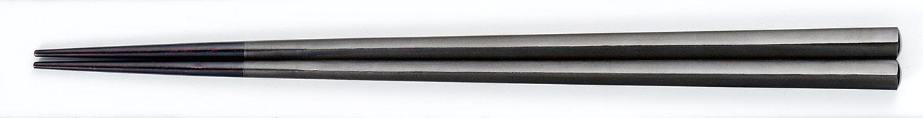 ohashi3084 5 - 五角箸 黒/黒パール[1膳]