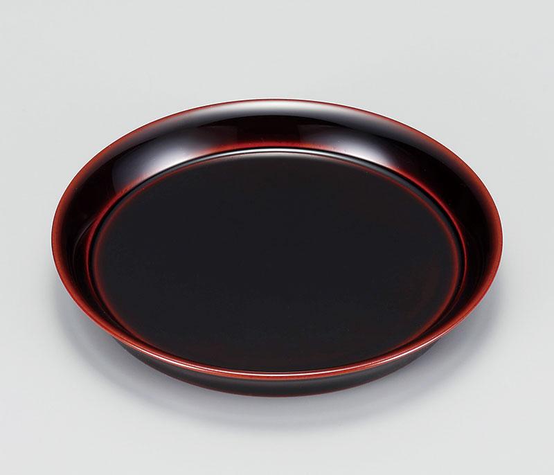 osara3025 4 - 溜塗(ためぬり)端反銘々皿[5枚]