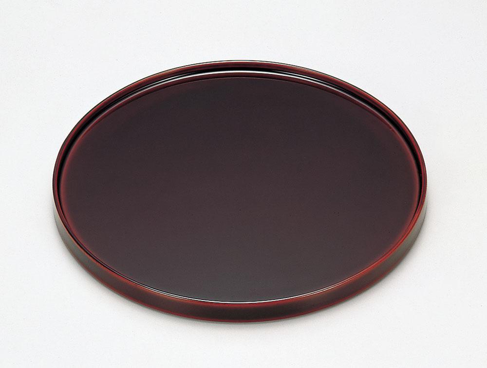 osara3026 3 - 溜塗(ためぬり)丸銘々皿[5枚]