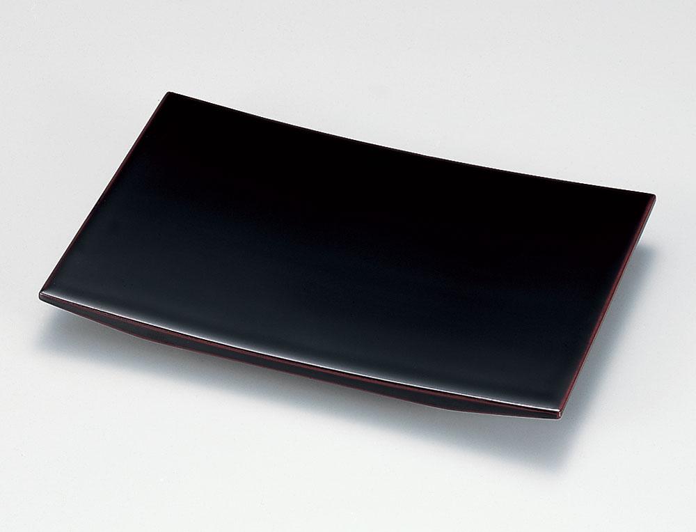 osara3027 1 - 溜塗(ためぬり)(足付)端反皿[1枚]