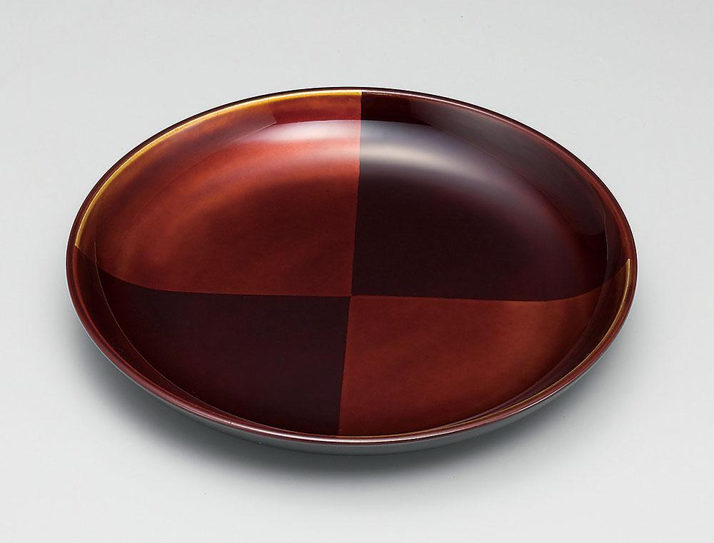 osara3028 5 - 【手描き蒔絵・消し蒔絵】市松白檀 銘々皿[5枚]