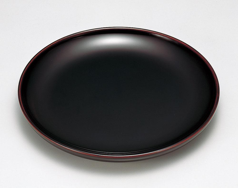 osara3043 6 - 溜塗(ためぬり)くり木地 盛皿[1個]
