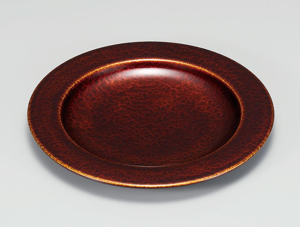 osara3043 7 - 似たり貫入 白檀 ディナープレート[枚]