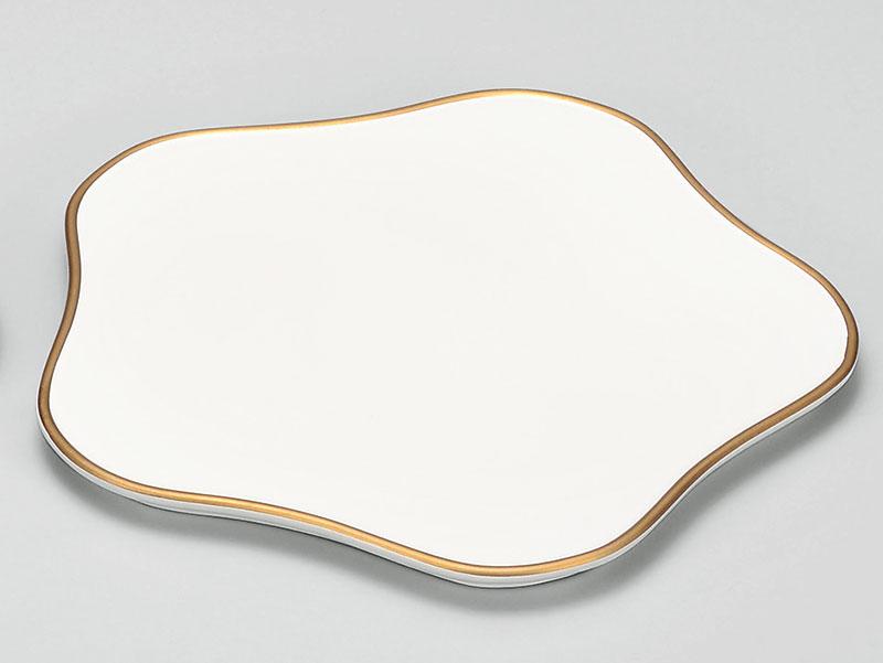 osara3046 5B - ホワイト 梅型盛皿[1枚]