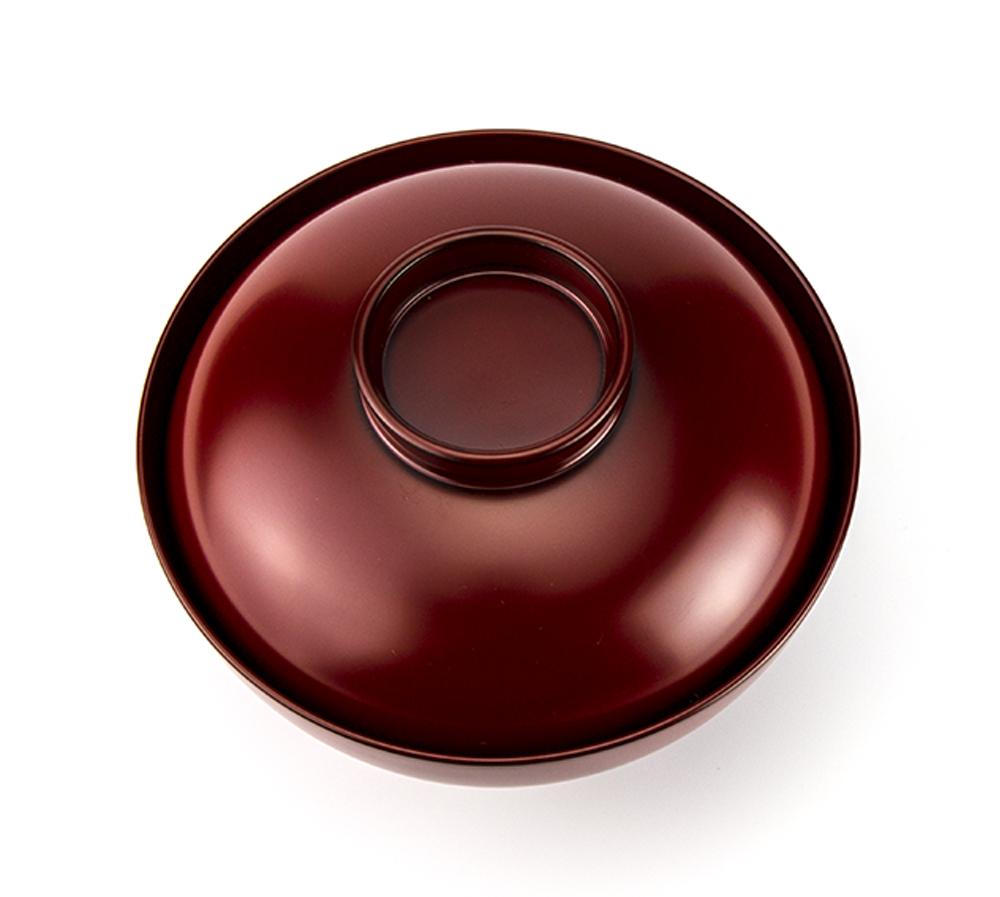 越前塗 粂治郎 根来雑煮椀[1客]【お正月・祝い膳】上部
