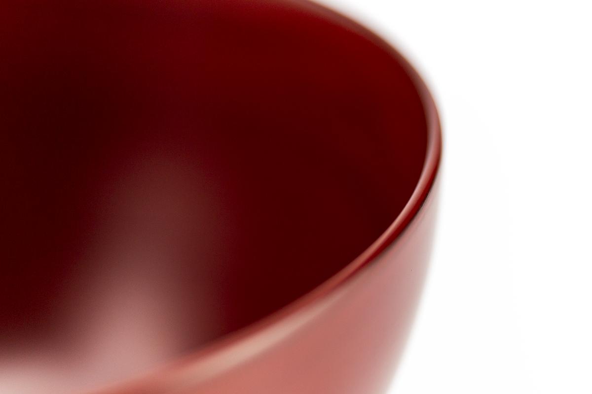 越前塗 粂治郎 古代根来 カップ椀[1客]飲み口