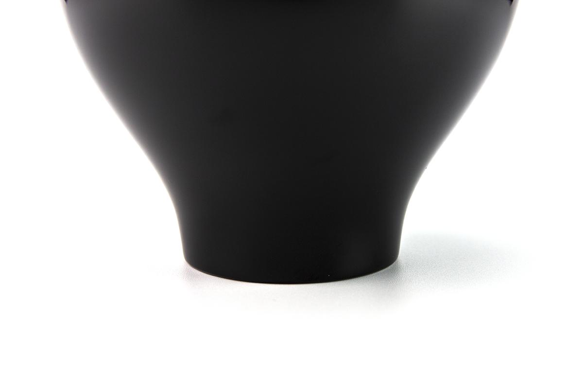 越前塗 粂治郎 黒 カップ椀[1客]底部