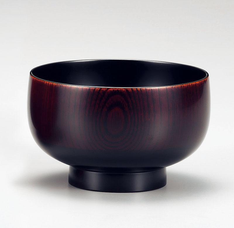 owan3021 3 - 越前塗 木地呂 けやき汁椀[1客]