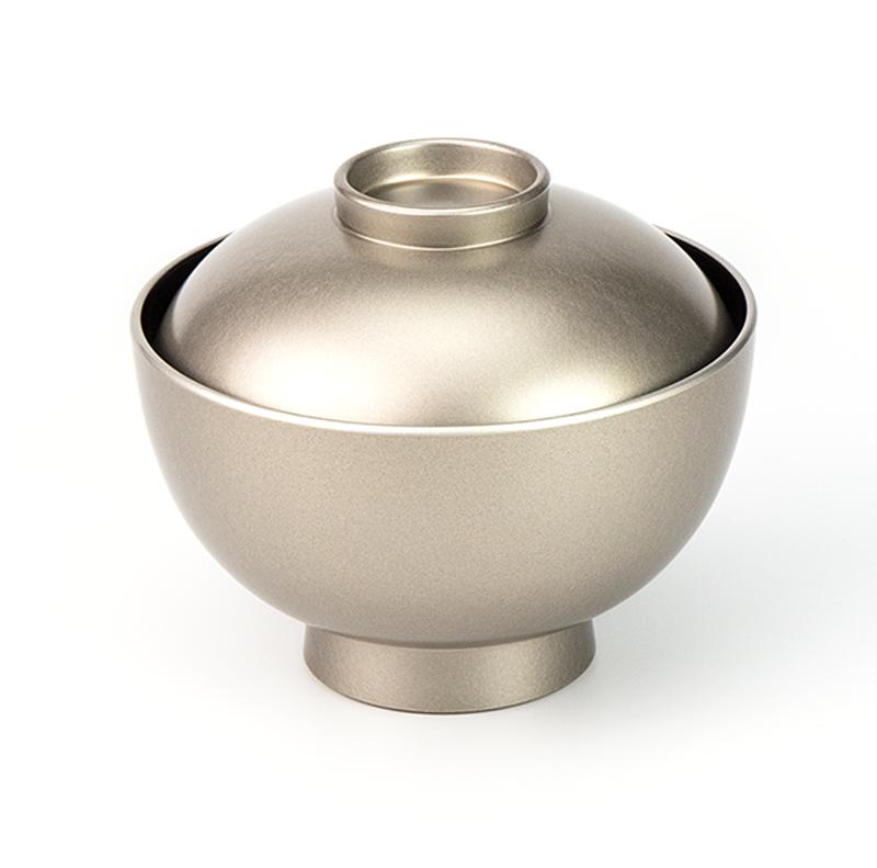 【越前漆器】銀内黒 吸物椀[5客]食洗機対応品