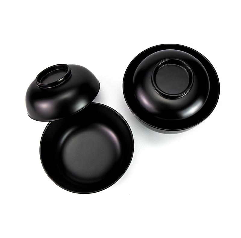 【越前漆器】小丸椀 飯碗[1客]使い勝手のよい飯碗、汁椀